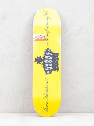 Deck Stereo Crown Team (yellow)