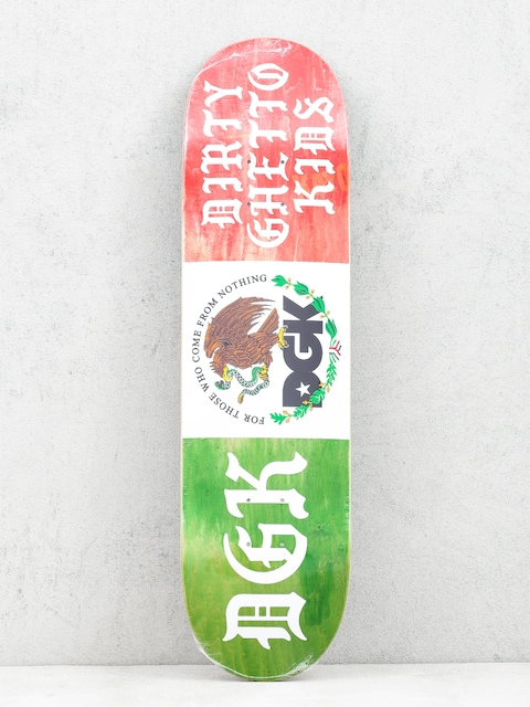 Deck DGK Coat Of Arms (green/white/red)