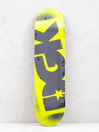 Deck DGK Fluorescent Logo (yellow)