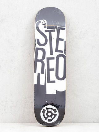 Deck Stereo Stacked (black)