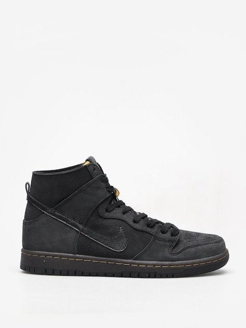 Buty Nike SB Sb Zoom Dunk High Pro Deconstructed Premium (black/black velvet brown peat moss)