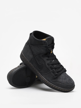 Buty Nike SB Sb Zoom Dunk High Pro Deconstructed Premium (black/black velvet brown peat moss)