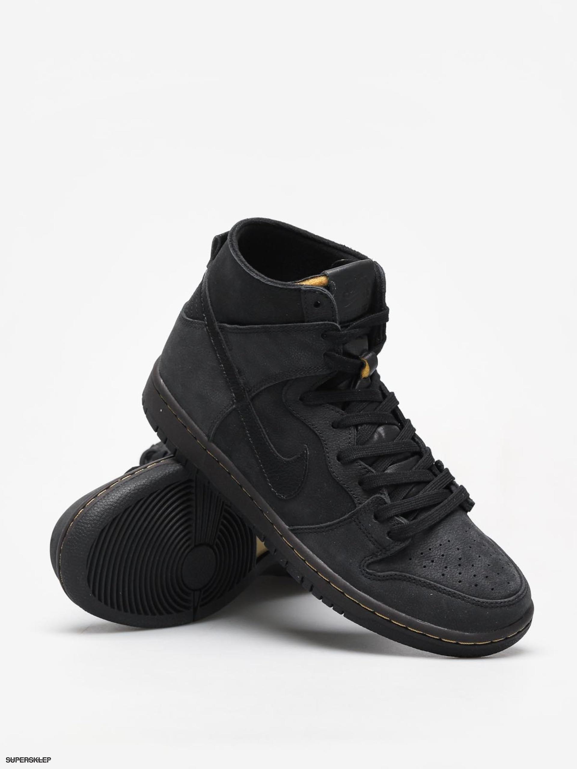 39ec6fbd22cd Buty Nike SB Sb Zoom Dunk High Pro Deconstructed Premium (black black  velvet brown peat moss)