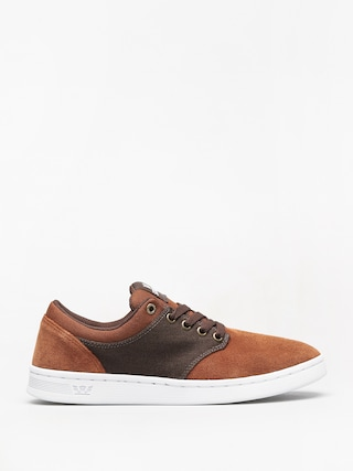 Buty Supra Chino Court (brown/demitasse white)
