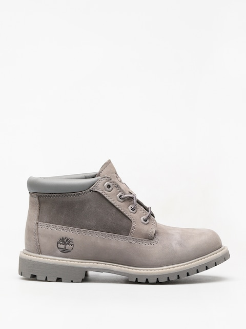 Buty zimowe Timberland Nellie Chk Lthr Sd Nwp Wmn (steeple grey)