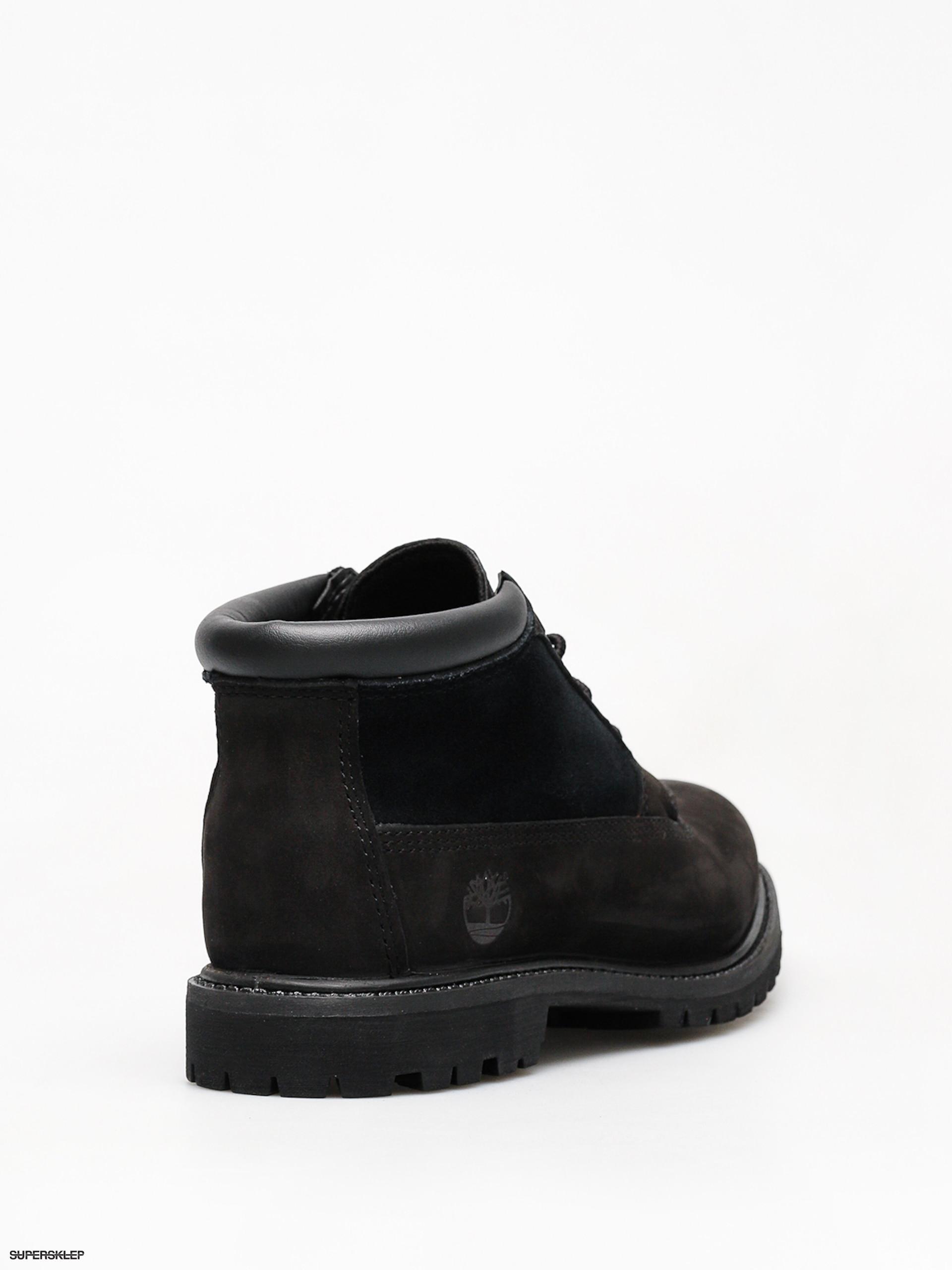 Buty zimowe Timberland Nellie Chk Lthr Sd Nwp Wmn (black)
