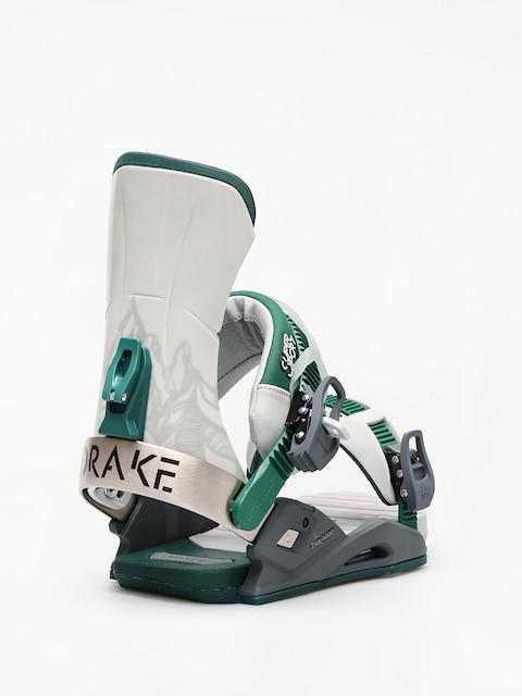 Wiązania snowboardowe Drake Super Sport (grey/black/green)