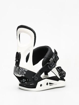 Wiązania snowboardowe Drake King (white)