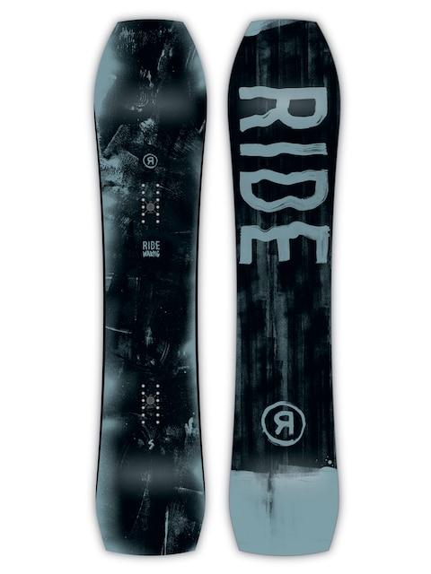 Deska snowboardowa Ride Warpig (black/blue)