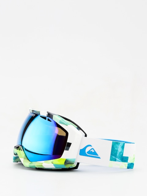 Gogle Quiksilver Fenom Art Serie (check atomic green)