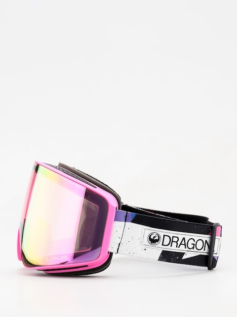Gogle Dragon PXV (tropic/lumalens pink ion/dark smoke)