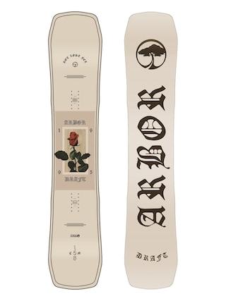 Deska snowboardowa Arbor Draft (white/black)